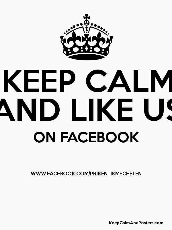 how to make a keep calm poster on facebook