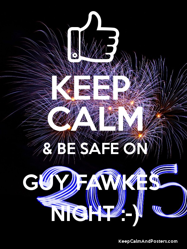 stay safe fawkes