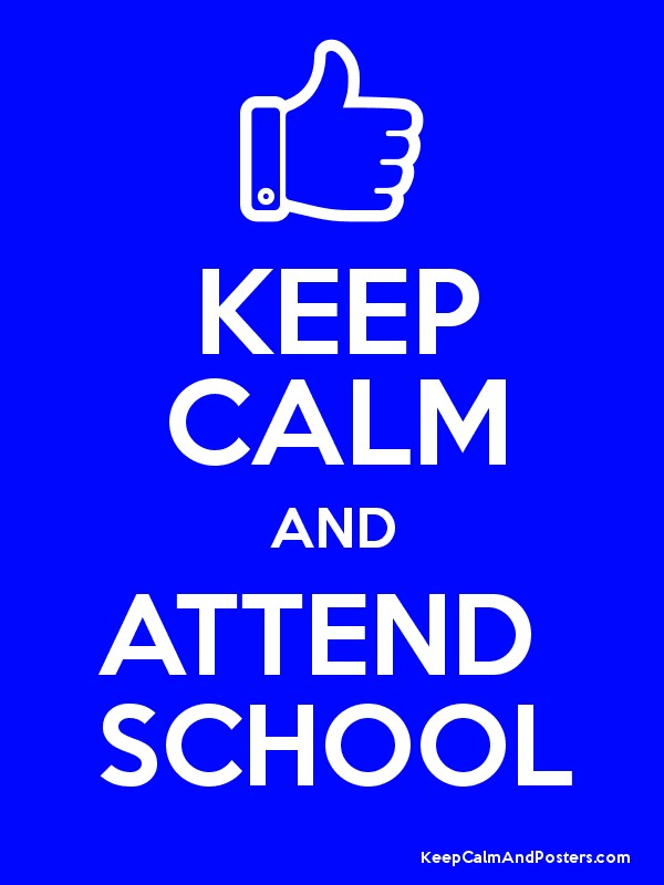 Image result for keep calm and attend