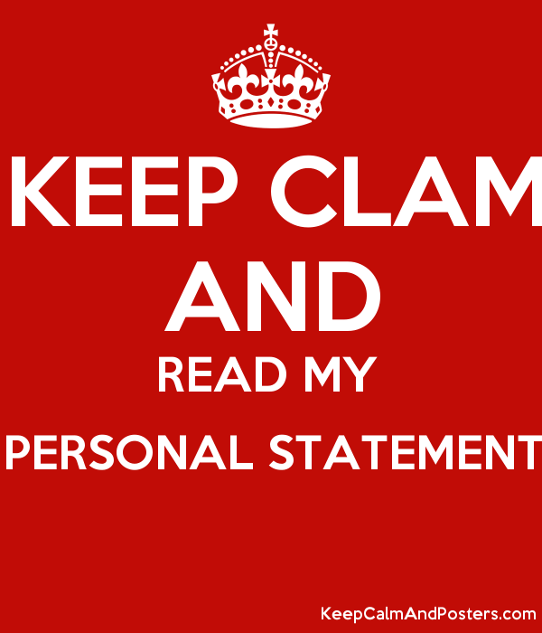 Can you read my personal statement/essay?