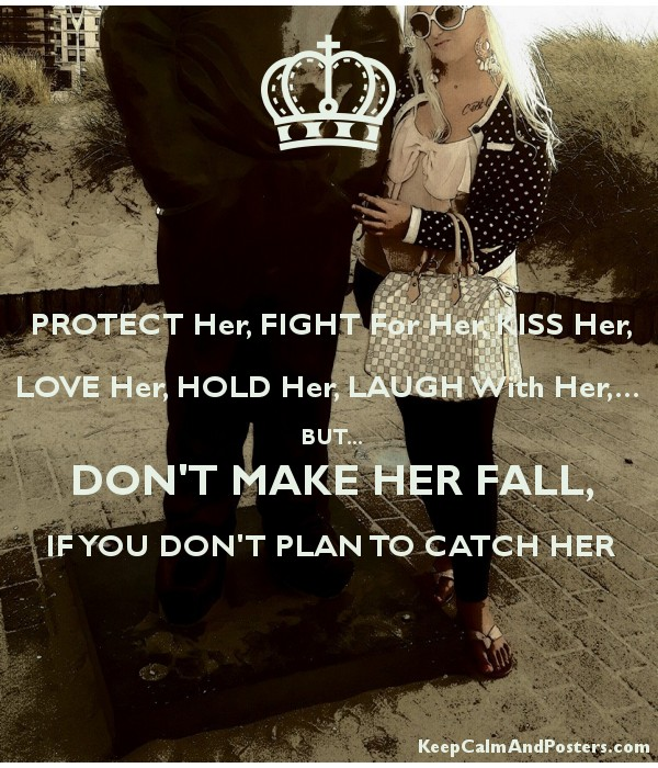 catch her and keep her