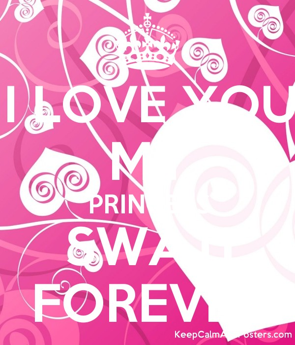 i love you my princess swati forever poster