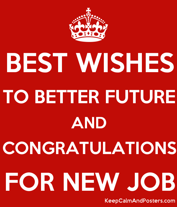 Good luck wishes for new job quotes