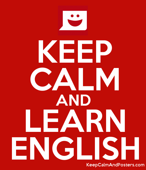 Image result for keep calm and learn english