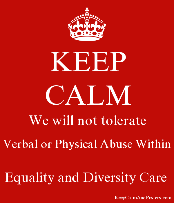 equality and diversity in care
