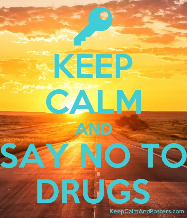 how to say no to drugs and mean it