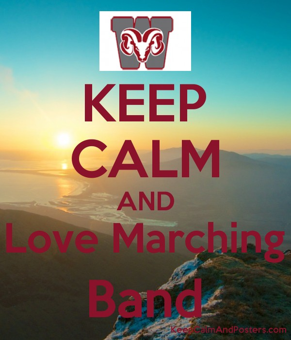 keep calm and love marching band keep calm and posters generator