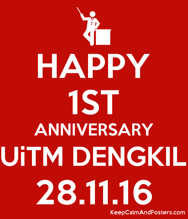 Happy 1st Anniversary Uitm Dengkil 281116  Keep Calm. Apa Paper Template 6th Edition. Good Bar Resume Examples. Tab Divider Template Free. All The Posters. Monthly Bill Tracker Template. Going Away Party Invitation Template. Wedding Seating Chart Template Excel. Free Newsletter Templates Word