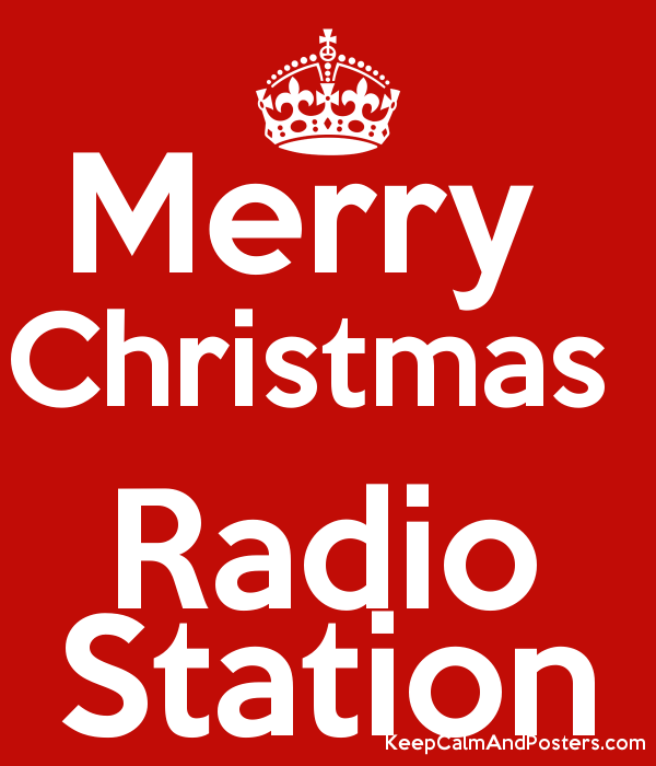 merry christmas radio station poster - What Is The Christmas Radio Station