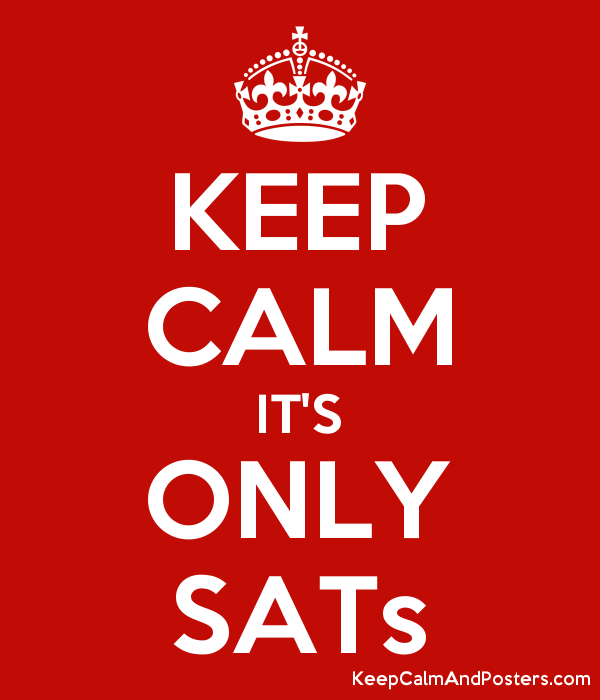 Image result for keep calm its only sats
