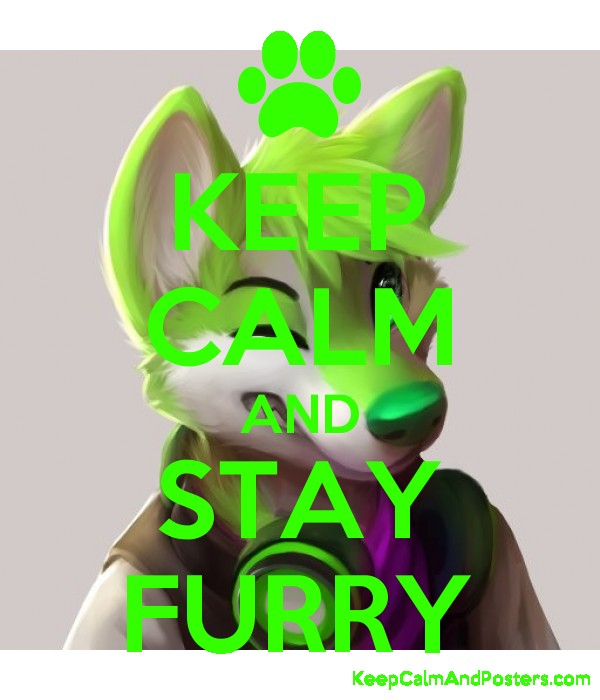 KEEP CALM AND STAY FURRY - Keep Calm and Posters Generator