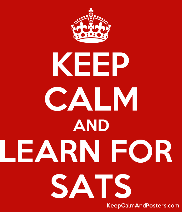 Image result for keep calm sats