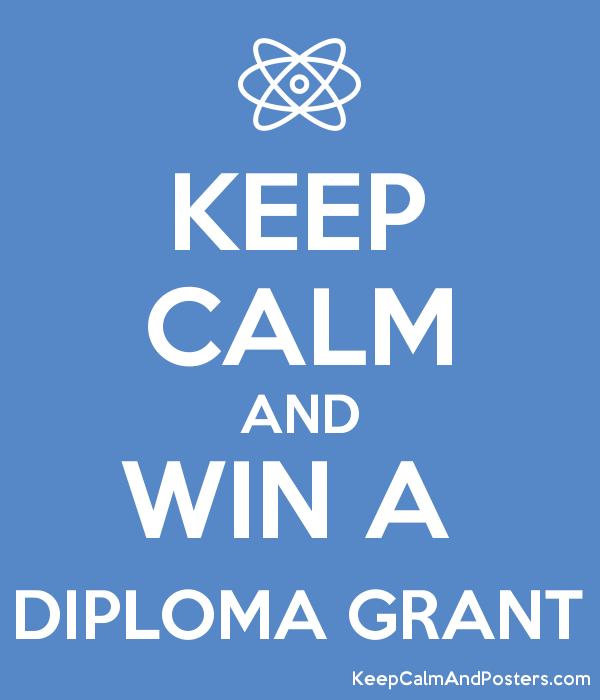 keep calm and win a diploma grant keep calm and posters generator