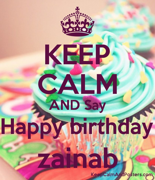 Zainab Name Happy Birthday Cake – Daily Motivational Quotes