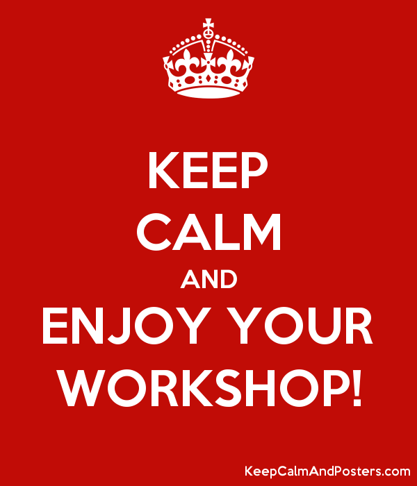Image result for workshop keep calm