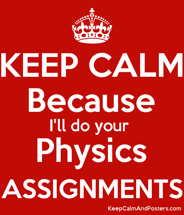 physics assignments