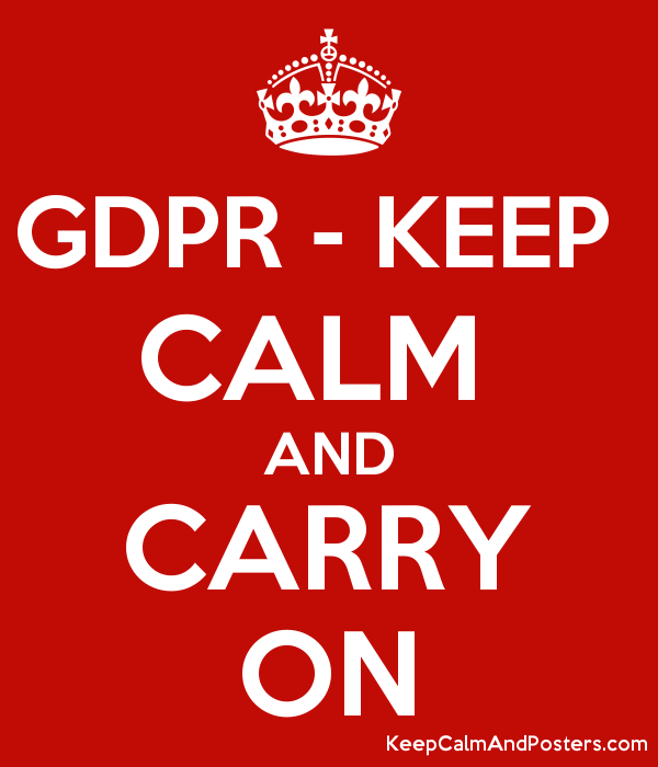 gdpr keep calm and carry on keep calm and posters generator