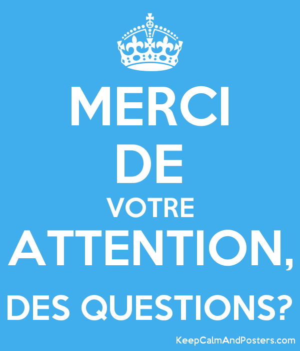 Merci De Votre Attention Des Questions Keep Calm And Posters