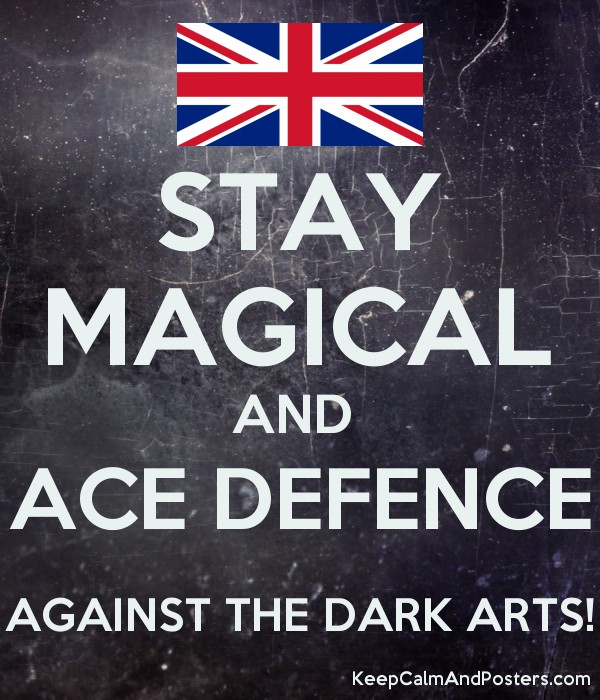 Stay Magical And Ace Defence Against The Dark Arts Keep Calm