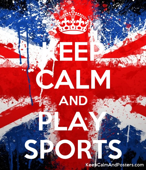 keep calm and play sports keep calm and posters generator maker