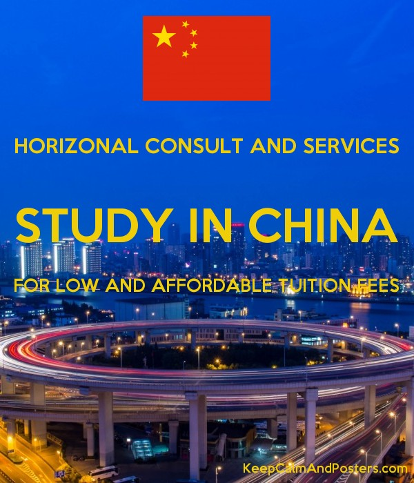 HORIZONAL CONSULT AND SERVICES STUDY IN CHINA FOR LOW AND AFFORDABLE