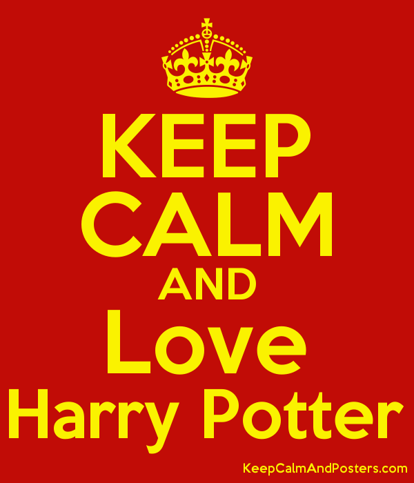 keep calm and love harry potter keep calm and posters