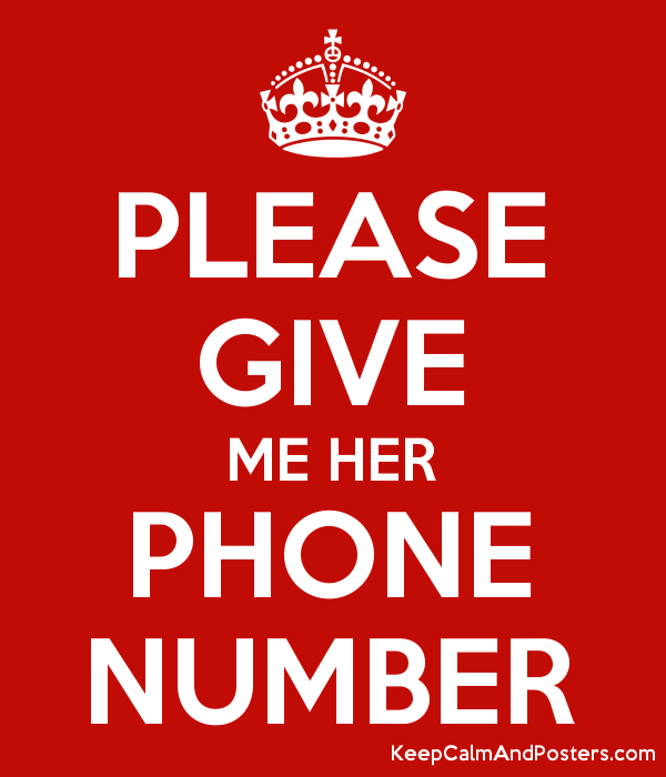 How To Get Her Phone Number