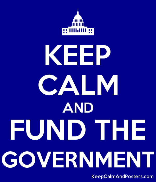 KEEP CALM AND FUND THE GOVERNMENT - Keep Calm and Posters Generator