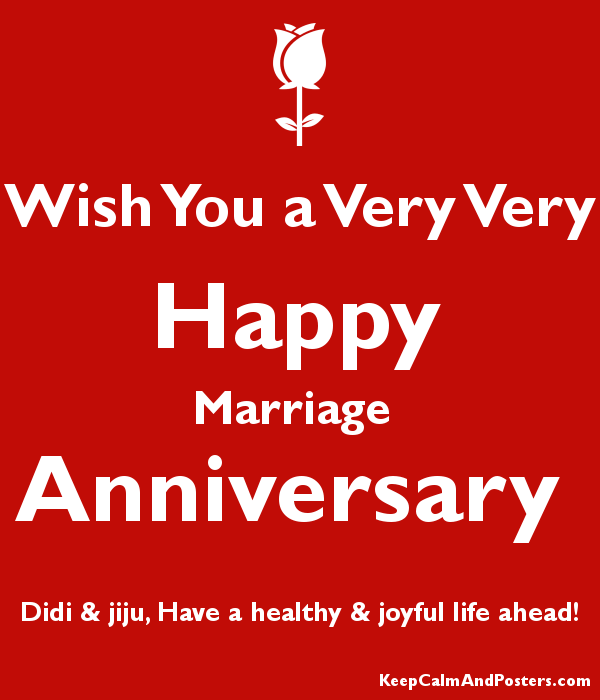 Imágenes De Happy Marriage Anniversary Wishes For Didi And Jiju