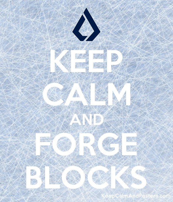 keep calm and forge blocks keep calm and posters generator maker