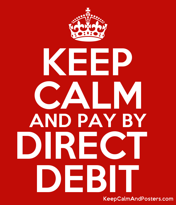 how to pay direct debit