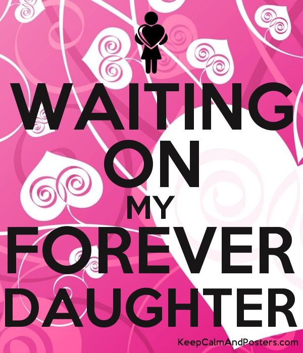 WAITING ON MY FOREVER DAUGHTER Poster