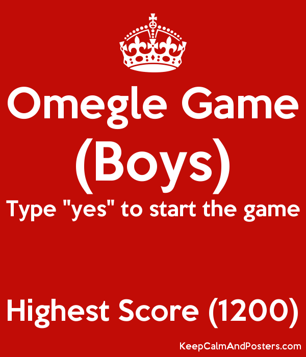 Omegle Game
