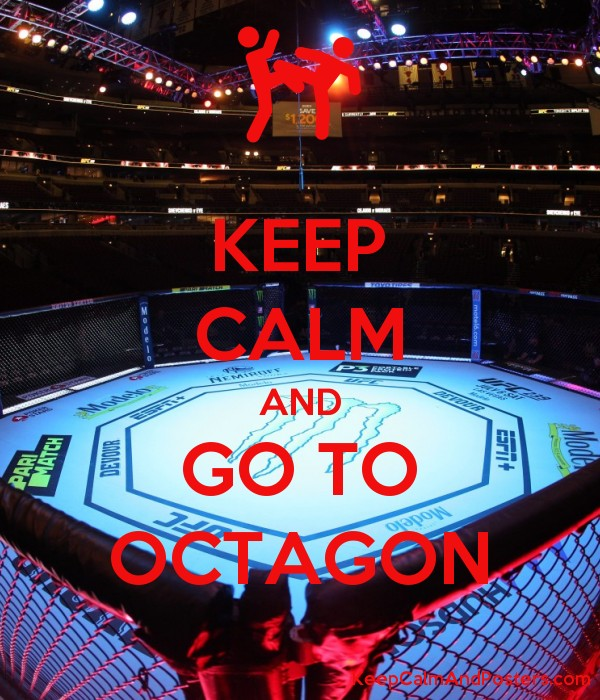 KEEP CALM AND GO TO OCTAGON Poster