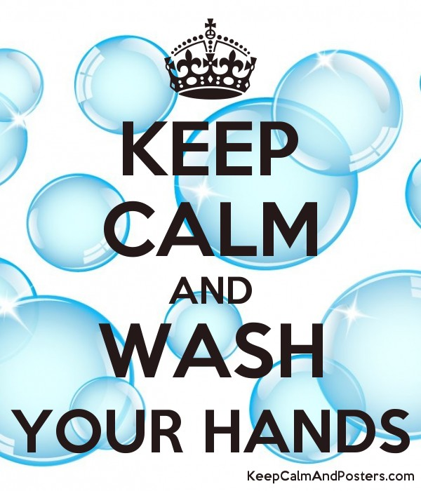 Image result for keep calm wash hands poster