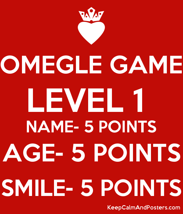 Omegel Game