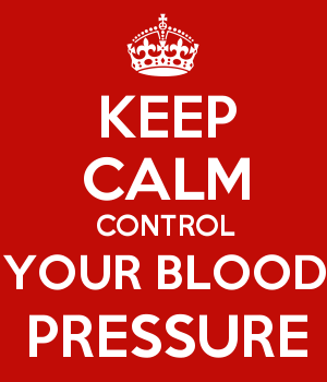 KEEP CALM CONTROL YOUR BLOOD PRESSURE
