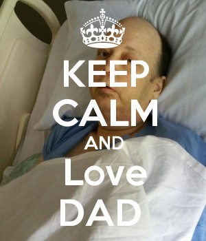 KEEP CALM AND Love DAD