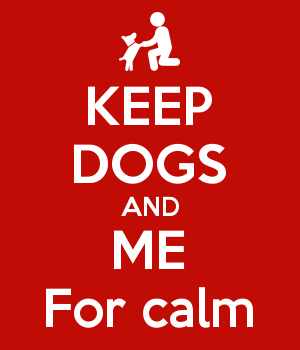 KEEP DOGS AND ME For calm