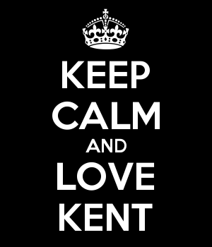 KEEP CALM AND LOVE KENT