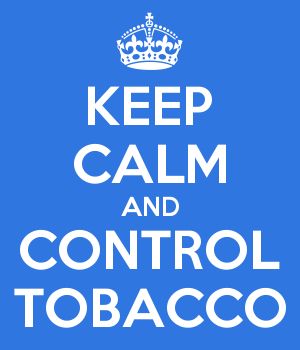 KEEP CALM AND CONTROL TOBACCO