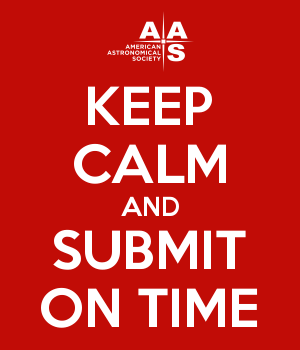 KEEP CALM AND SUBMIT ON TIME