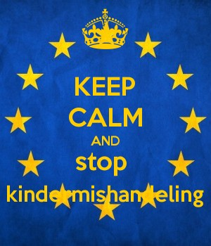KEEP CALM AND stop  kindermishandeling