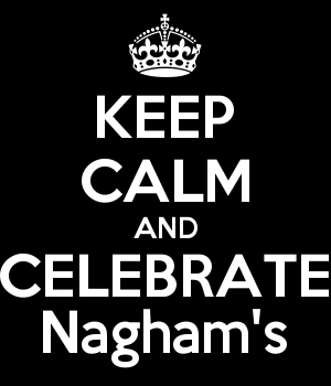 KEEP CALM AND CELEBRATE Nagham's