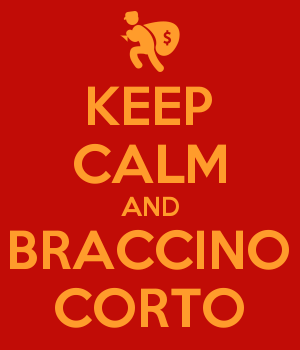 KEEP CALM AND BRACCINO CORTO