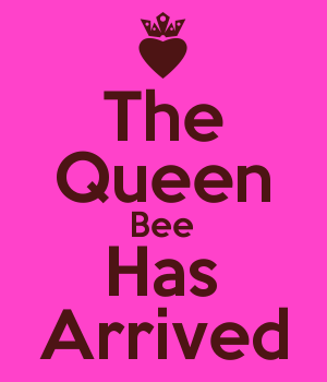 The Queen Bee Has Arrived