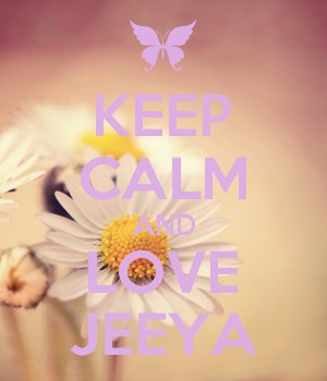 KEEP CALM AND LOVE JEEYA