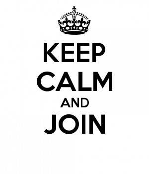 KEEP CALM AND JOIN