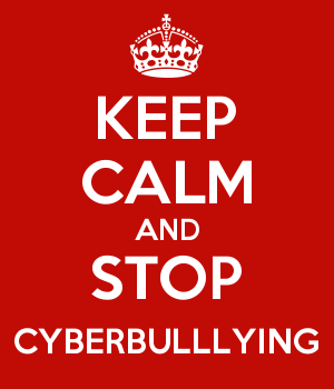 KEEP CALM AND STOP CYBERBULLLYING