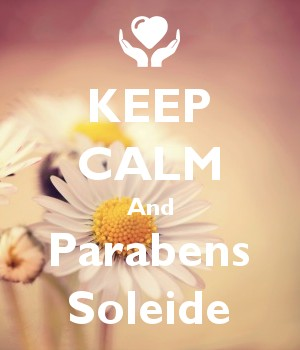 KEEP CALM And Parabens Soleide